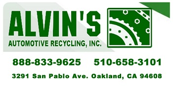 Alvin's Auto Recycling, Oakland, CA Charity Car Donation Quotation Form