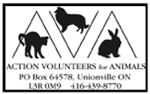 Action Volunteers for Animals, Unionville,ON Vehicle Donation Quotation Form