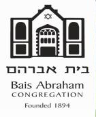 Bais Abraham Congregation, saint louis,MO Vehicle Donation Quotation Form