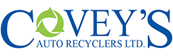 Covey's Auto Recyclers Ltd, Blandford, NS Charity Car Donation Quotation Form