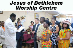 Jesus of Bethlehem Worship Centre, Toronto,ON Vehicle Donation Quotation Form